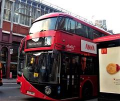Abellio London LT690 on route 68 Waterloo 17/11/18. (Ledlon89) Tags: london bus buses tfl transport londonbus londonbuses londontransport transportforlondon