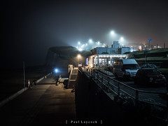 A Foggy Night at the Whitecliffs Cafe 46/52 2018 (amipal) Tags: 175mm england fog gb greatbritain manuallens night saltdean sussex uk unitedkingdom voigtlander cafe photo52 photoaweek