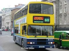 Dublin Bus RA187 (94D187). (Fred Dean Jnr) Tags: april2005 dublin dublinbus busathacliath dublinbusyellowbluelivery volvo olympian alexander r collegegreendublin dbrook dublinbusroute84x ra187 94d187 l937utu
