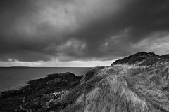 Heavy Skies, Burntisland (Fifescoob) Tags: burntisland leefilters canon 5ds fife scotland cloud landscape storm winter cold weather seascape mono monochrome bw blackandwhite thunder drama dramatic