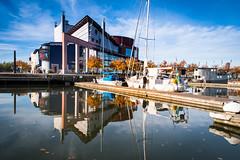 Reflection (Maria Eklind) Tags: operan autumn gothenburgoperahouse båt lillabommen gothenburg göteborg reflection spegling sweden boat höst gothenburgopera göteborgsoperan city västragötalandslän sverige se