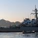 USS John S. McCain departs from dry dock at Fleet Activities Yokosuka