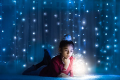 Magical Time (mpapial) Tags: sikhboy light magical wonderful home fun nikkor sikh minnesota winter lights fairy explore midwest us