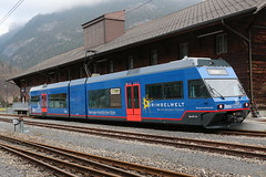 2019-01-01, MIB, Innertkirchen MIB (Fototak) Tags: schmalspurbahn treno train railway switzerland berneroberland gtw stadler 13