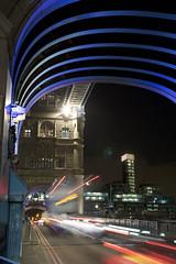 Flying Saucers over Tower Bridge. (Elsegood Collections) Tags: london towerbridge thames night bridge nikon sigma d7100