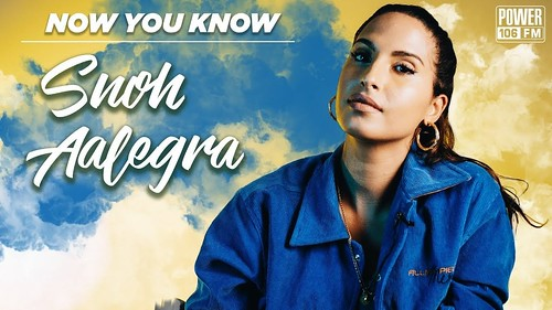 Snoh Aalegra fan photo