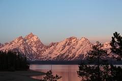 USA - Wyoming  - Grand Teton National Park -  sunrise on Jackson Lake (mda'skaly) Tags: leverdesoleil sunrise wyoming landscape