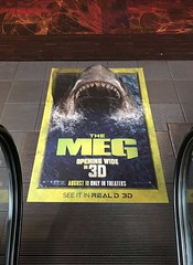 Entertainment, The Meg, Floor Graphics