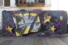 Airborne Mark graffiti, Camden (duncan) Tags: camden graffiti streetart airbornemark origamiriot origamiriots