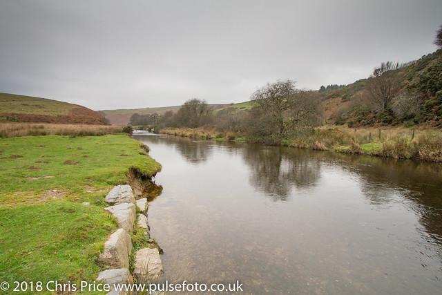 The River Barle at Landacre, Exmoor