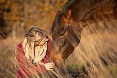 Friends (buba_noi) Tags: horse autumn friendship