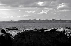 Istanbul in bw (n.okyayli) Tags: istanbul blackandwhite monochrome nikond70s cityscape