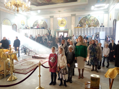 Воскресная Божественная Литургия в Никольском кафедральном соборе г. Ейска