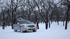 IMG_2850 (86Reverend) Tags: 2006 subaru baja turbo lifted anderson design fabrication adf method race wheels 502 bf goodrich ko2 winter snow