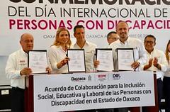 Firma de acuerdo de colaboración con DIF fortalecerá la educación inclusiva: IEEPO