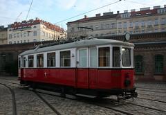 Triebwagen Type M 4137 (1929-1979) (Wolfgang Bazer) Tags: triebwagen type m 4137 strasenbahn trambahn tramway tram streetcar verkehrsmuseum remise wiener linien wien vienna österreich austria