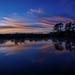 Sunrise in Fred C. Babcock/Cecil M. Webb Wildlife Management Area near Punta Gorda, Florida