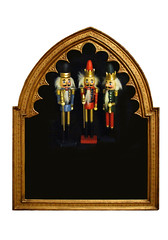 Nutcrackers In Frame! (☼Warming Up Again☼) Tags: odc copyspace nutcrackers frame arched wood