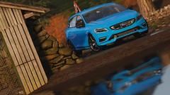 Volvo V60 Polestar (PixelGhostClyde) Tags: forza motorsport horizon fh4 turn 10 studios t10 playground games pg microsoft xbox one xb1 xbone x xb1x autumn volvo v60 polestar swedish station wagon performance cyan