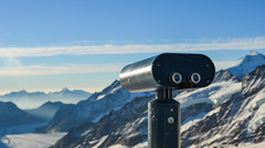 Public binocular on snow mountain peak (phuong.sg@gmail.com) Tags: background beautiful binocular blue breathtaking clouds coin distance hiking instrument jungfrau landscape looking machine metal mount mountain observation operated peaks public range region scenery scenic sight sightseeing sky snow spyglass tourism tourist touristic travel trekking vacation valley view viewing