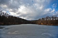 Frozen Lake (roksoslav) Tags: zagreb croatia 2019 z6 nikkorz2470mmf4s jezero lake 5jezero maksimir