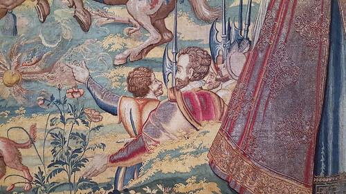detail of Elephant - Valois Tapestries