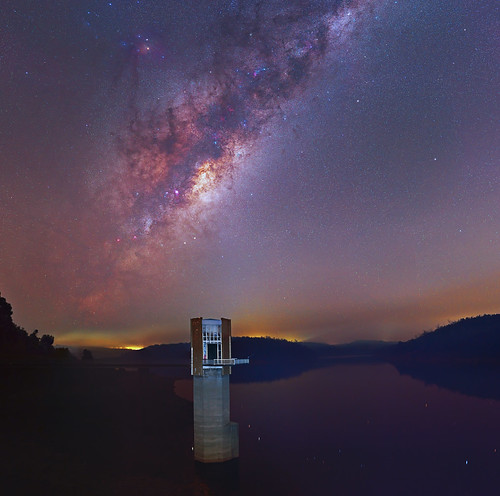 Smokey Milky Way - Serpentine Dam