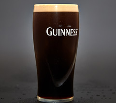 Guinness (Bernie Condon) Tags: booze guinness beer stout glass black white drink alcohol studio flash
