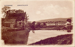 Waterside, Kirkintilloch. (Paris-Roubaix) Tags: waterside kirkintilloch river luggie old mill east dunbartonshire antique postcards scotland vintage scottish
