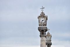 Horloges San Sebastian (manon.sln) Tags: horloge san sebastian espagne ciel nikon temps heure minute gris