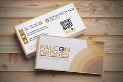 Falcon Drones Business Card (ismailrajib) Tags: seleccionar