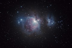 The Orion Nebula - M42 (ukmjk) Tags: astro astronomy astrotrac nikon nikkor d500 200500 vr france orion nebula m42 deep sky stacker
