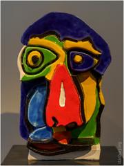 Work by Karel Appel (FlickrDelusions) Tags: keramiekmuseumprincessehof netherlands leeuwarden museum nederland karelappel ceramics princessehof thenetherlands nl friesland