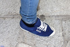 Kawasaki (archgionni) Tags: shoe blu blue pietra stone jeans canon