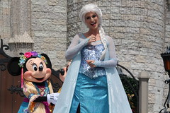 Mickey's Royal Friendship Faire at the Magic Kingdom (Hazboy) Tags: hazboy hazboy1 magic kingdom disney world september 2018 florida vacation characters show castle cinderella elsa frozen