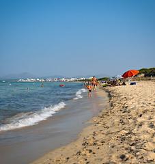 Summer in Mallorca (climentgaraupastor) Tags: summer mallorca beach sea mediterranean mediterraneansea sonyalpha shore muro canpicafort alcudia vivid beachlife beachlifestyle tiltshift streetphotography platjademuro