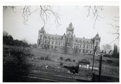 VINTAGE UNKNOWN WHERE IS THIS (JOHN MORGANs OLD PHOTOS.) Tags: vintage found photo ivintage unknown where is this uk unusual unitedkingdom unique unkown interesting different old bw and white johnmorgan