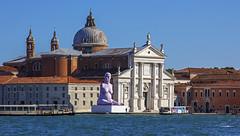 San Giorgio Maggiore island (JLM62380) Tags: palace basilique statue alison lapper pregnant sculpture alisonlapper venice venezia sangiorgiomaggiore island sport handicap