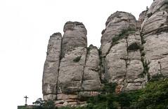 Cross at Montserrat, Catalonia 08/31/09