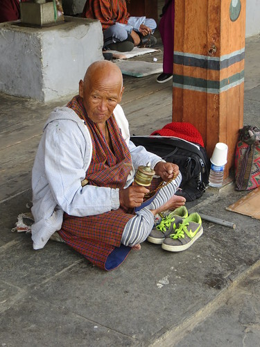 06 02 Bhutan - Thimpu - Memorial Chorten 004