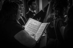 Silent Night (Phil Roeder) Tags: desmoines iowa desmoinespublicschools lincolnhighschool choir chorus singers silentnight music blackandwhite monochrome canon6d canonef24105mmf4lisusm