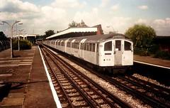 1476 @ Hainault (Chris W 72) Tags: londonunderground 62tubestock 62ts centralline 1476 hainault hainaultstation