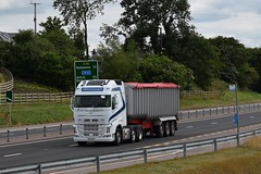 SIG 7190 - Wishart Transport Ltd Markethill County Armagh (Jonny1312) Tags: lorry truck volvo fh4 tipper garvagh cloughmills frossesroad markethill armagh ballymena antrim volvofh4