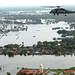 Flooding around Bangkok, Thailand