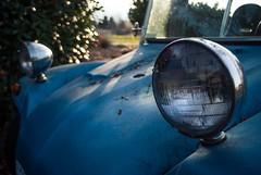 Headlights (La Chachalaca Fotografía) Tags: bug buggy bajabuggy vw volkswagen oregon smalltown car automobile coche bagnole offroad baja headlights pentax k200d
