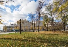 Дом на Набережной (vladimirdar1) Tags: vladimirdar архитектура городскойпейзаж замоскворечье золотаяосень золото осень прогулкипомоскве