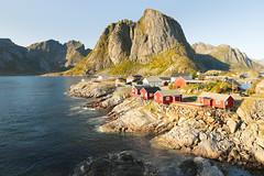Sun-Kissed - Hamnøy - Lofoten - Norway (nonac.eos@gmail.com) Tags: cabins canon6d destination ef1635f28lii fisherman fishing hamnøy islands landscape lofoten moskenes nonaceos nordland norway picturesque reine tourist village archipelago norvegia no