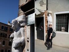 Campo dei Mori (Insher) Tags: italy italia venice venezia canareggio statue rioba campodeimori sculpture