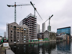 Bolands Quay (turgidson) Tags: panasonic lumix dmc g7 panasoniclumixdmcg7 panasonicg7 micro four thirds microfourthirds m43 g lumixg mirrorless 714mm f40 asph panasonic714mmf40asph f4 ultra wide angle wideangle ultrawideangle zoom hf007014 hf007014e vario silkypix developer studio pro 7 silkypixdeveloperstudiopro7 raw p1270427 dublin ireland bolands mill bolandsmill quay redevelopment burke kennedy doyle burkekennedydoyle bkd architects bam contractors