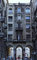 Architecture in Turin. (giuselogra) Tags: architecture architettura torino turin piedmont piemonte italia italy urban city streetphotography street